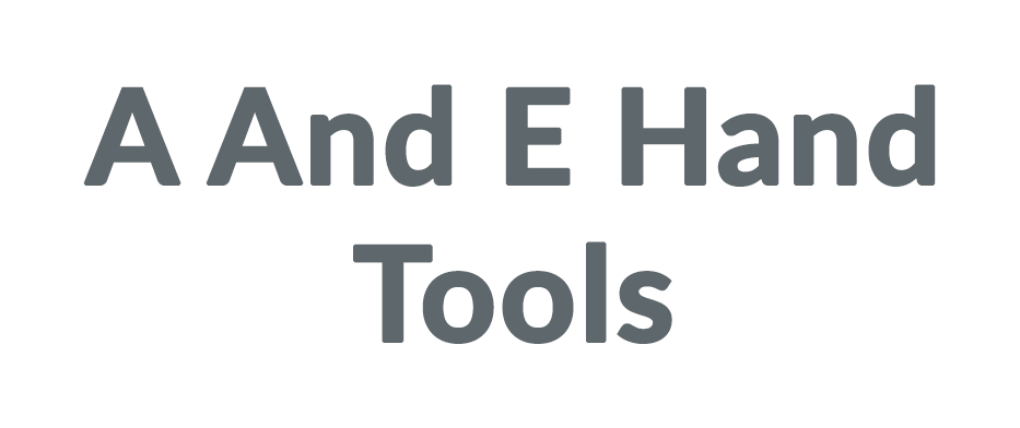 A And E Hand Tools coupon code