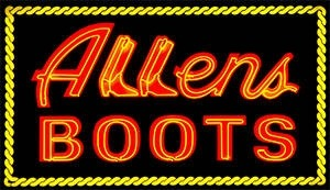 Allens Boots coupon code