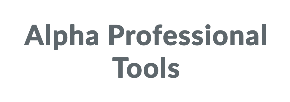 Alpha Professional Tools coupon code
