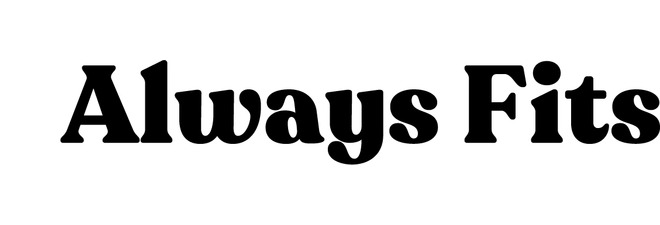 AlwaysFits.com coupon code
