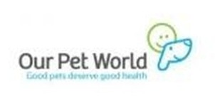Our Pet World coupon code